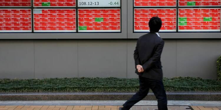 A Tokyo, le Nikkei finit en hausse de 0,47%