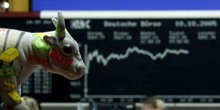 Les actions amorcent un rebond, le sterling monte