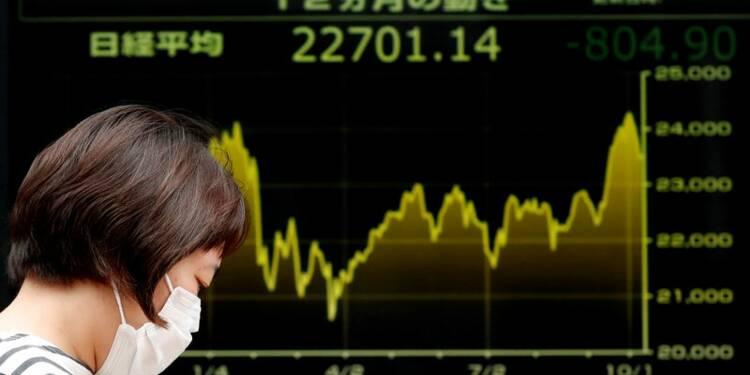 Le Nikkei à Tokyo finit en baisse de 0,99%
