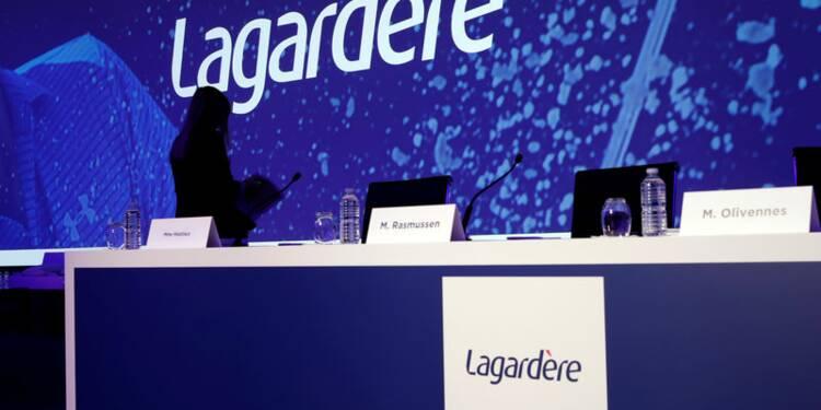 Lagardère, en plein recentrage, signe des comptes 2018 en hausse