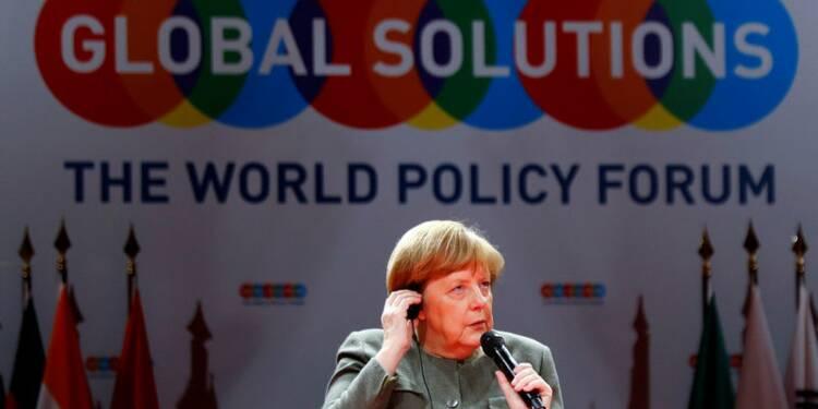 Merkel ne veut pas se mêler du dossier Deutsche Bank-Commerzbank