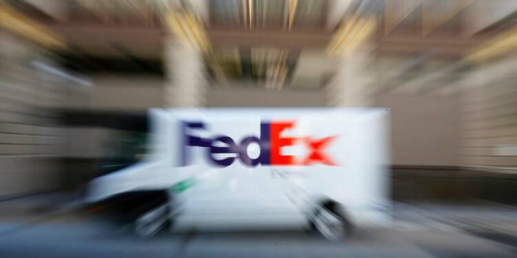FedEx abaisse encore sa prévision de BPA annuel