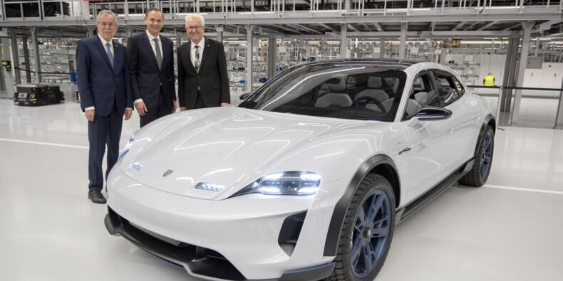 Taycan : Porsche dévoile son bolide anti-Tesla