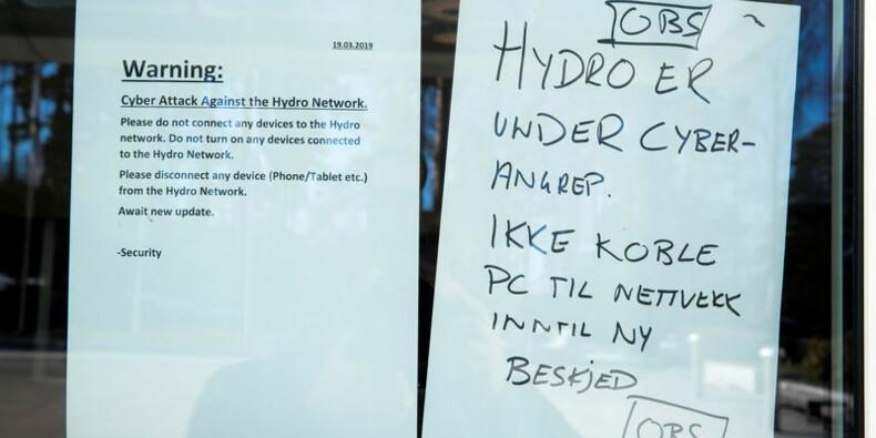 Norsk Hydro dit n'avoir versé aucune rançon après une cyberattaque