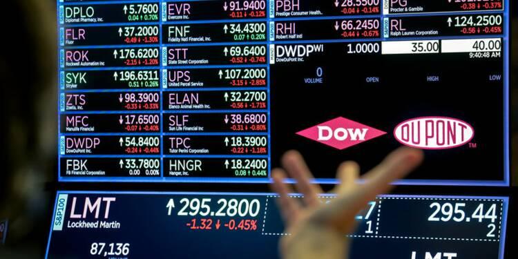 Des scissions pourraient provoquer une modification du Dow Jones