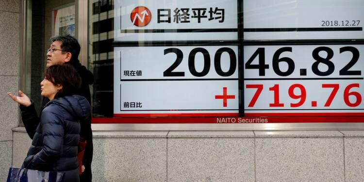 A Tokyo, le Nikkei finit en hausse de 0,09%