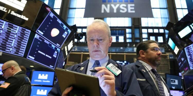 Les craintes sur la croissance mondiale pèsent à Wall Street