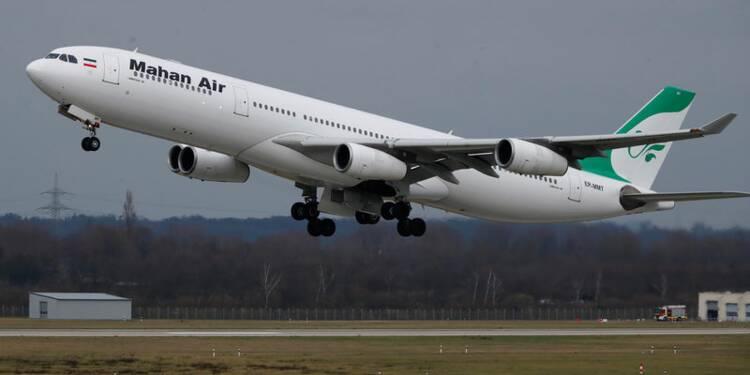 La France suspend la compagnie iranienne Mahan Air