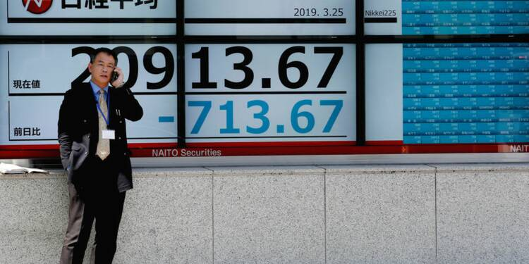 A Tokyo, le Nikkei chute de 3,01%