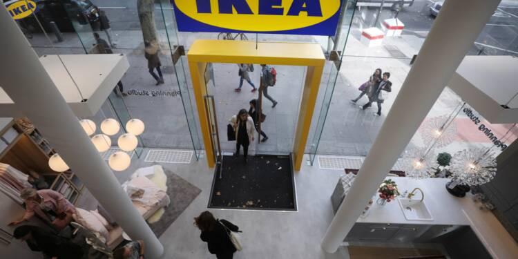 Ikea souffre aussi d'Amazon et supprime des postes