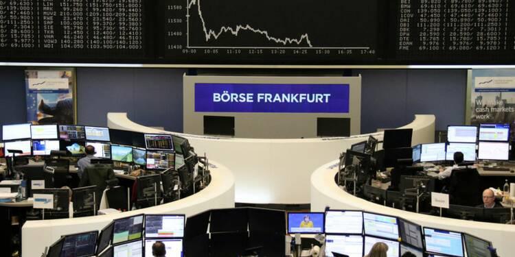 L'Europe boursière reste dans le rouge mais l'indice Ifo rassure