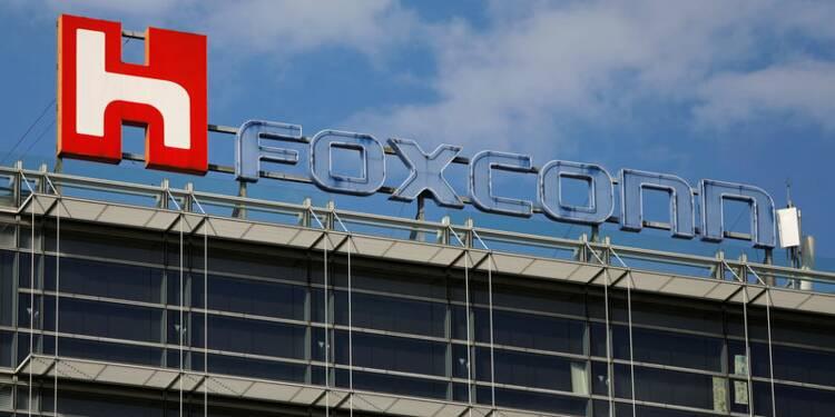 Le bénéfice de Foxconn baisse moins que prévu