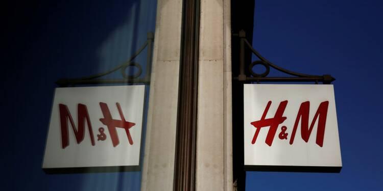 H&M rassure avec son bénéfice, le titre bondit