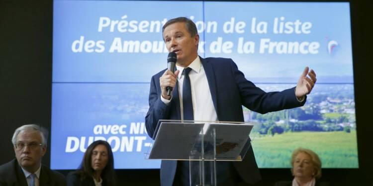 Emprunt populaire : Nicolas Dupont-Aignan prêt à imiter La France insoumise et le RN