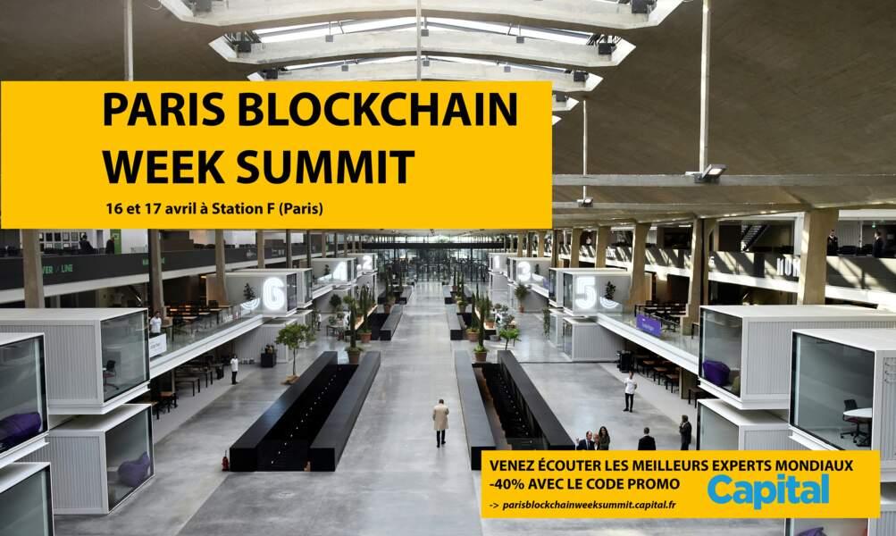 Venez écouter les meilleurs experts au Paris Blockchain Week Summit