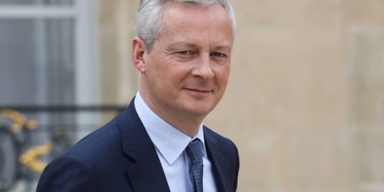 """Guerre commerciale, populisme… L'euro """"n'a jamais été aussi menacé"""", avertit Le Maire"""