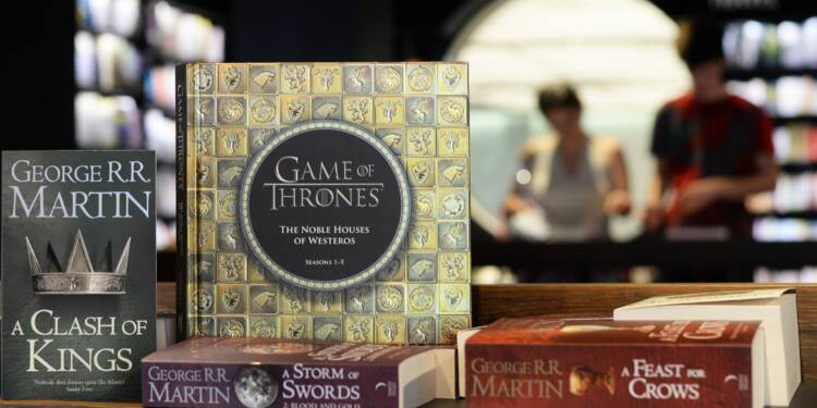 Game of Thrones, c'est aussi un énorme carton en librairie
