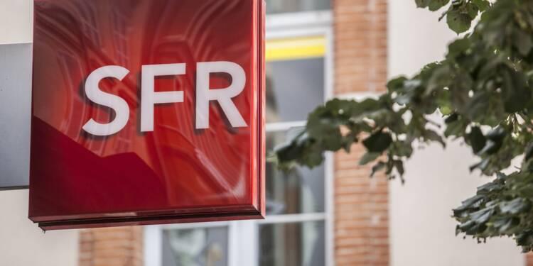 SFR visé par des redressements fiscaux
