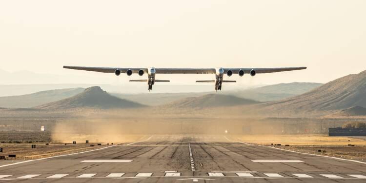 Découvrez le plus grand avion du monde en images