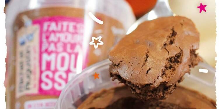 Danone croque les biscuits Michel et Augustin