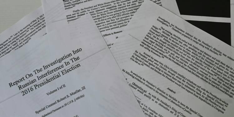 """Le rapport Mueller n'apporte """"aucune preuve"""" d'ingérence russe, selon le Kremlin"""