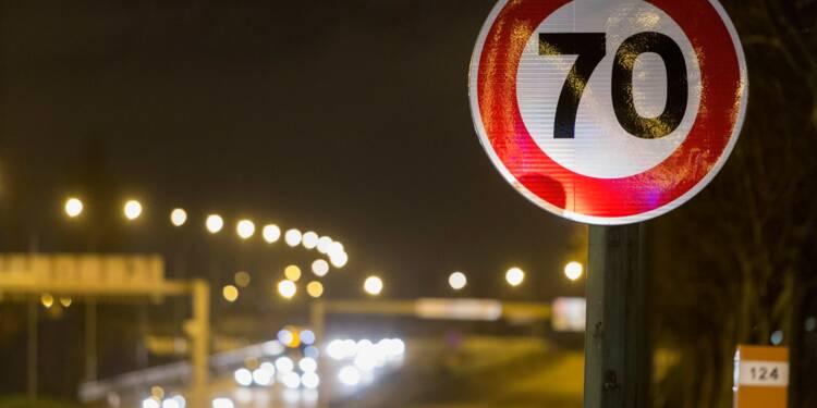 Le périphérique de Lyon passe à son tour aux 70km/h