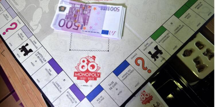 Un Monopoly affiche les prix des locations Airbnb à Paris