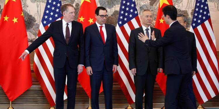 Commerce: les dossiers sensibles sur la table des négociateurs américains et chinois