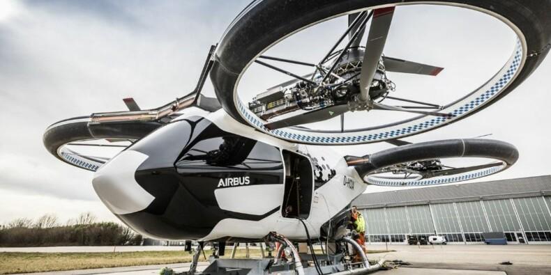 Les taxis volants d'Airbus effectuent leurs premiers essais