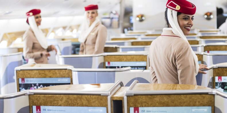 Emirates : flicage, horaires à rallonge… Les difficiles conditions de travail des hôtesses et stewards