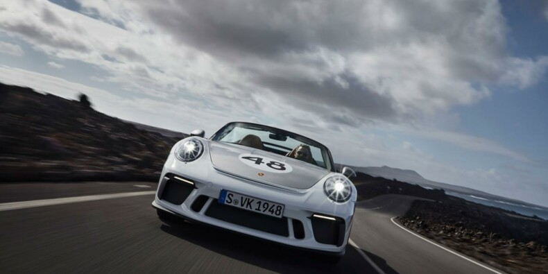Porsche 911 Speedster : un futur collector vendu à prix d'or