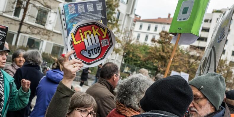 Des militants anti-Linky débarquent chez Enedis