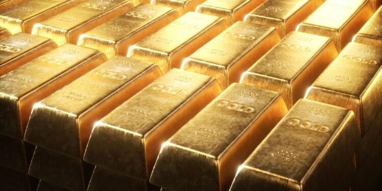 Porté par le bras de fer entre la Chine et les Etats-Unis, l'or pourrait bondir à 1.400 dollars selon UBS