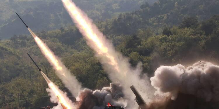 Avec ses tirs de missiles, la Corée du Nord fait monter la tension d'un cran
