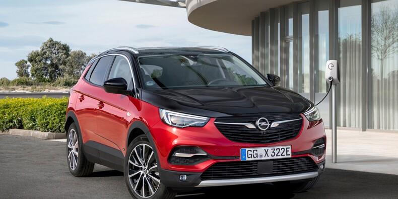 Opel Grandland X Hybrid4 : puissance, autonomie, tous les détails