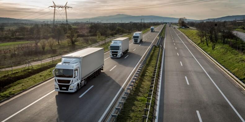 Des députés veulent taxer les entreprises qui font rouler les camions