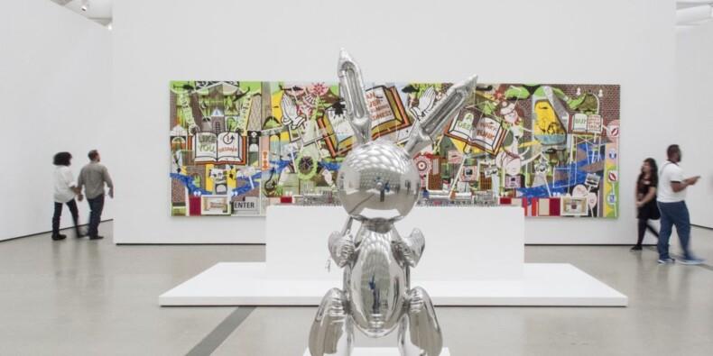 Avec son lapin, Jeff Koons devient l'artiste vivant le plus cher au monde