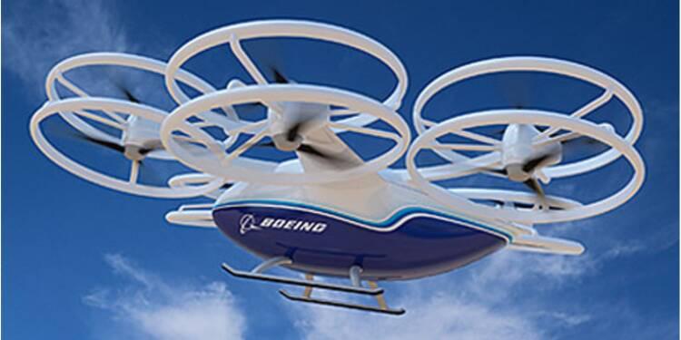 CAV, le drone Cargo de Boeing, prend son envol