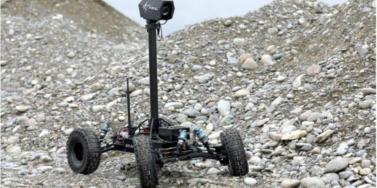 Stamina, le robot autonome sans GPS qui intéresse l'armée française