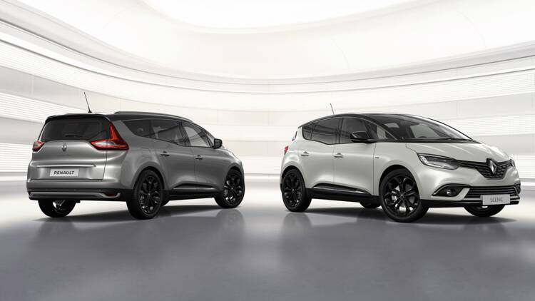 Renault Scénic Black Edition 2019 : nouvelle version au catalogue