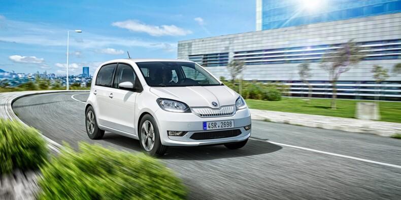 Skoda lance sa première voiture électrique, Citigo e iV