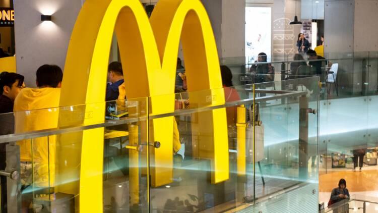 Le plus petit McDonald's du monde ouvre ses portes en Suède
