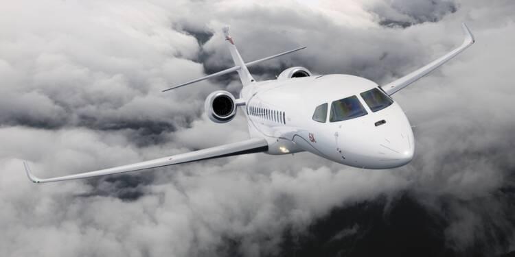Dassault : la fabrication du Falcon 6X commence