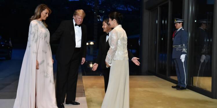 Le coût faramineux des robes portées par Melania Trump au Japon