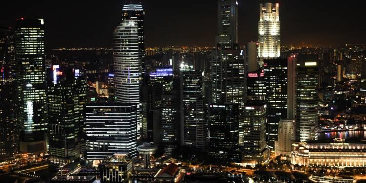 La Bourse de Shanghai subit l'effet J.O.