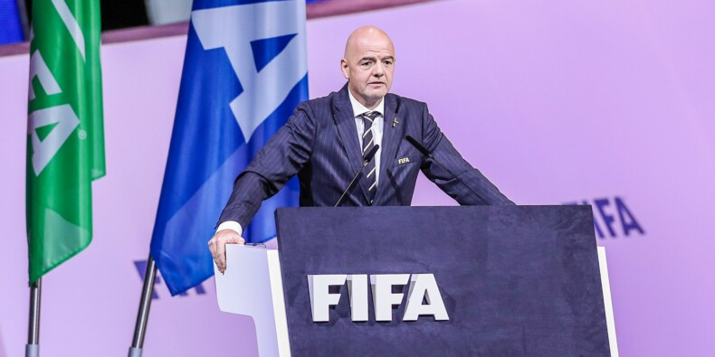 Le patron de la Fifa vise 50 milliards de recettes pour la Coupe du monde des clubs