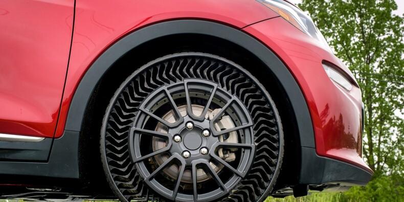 Michelin annonce un pneu increvable et sans air