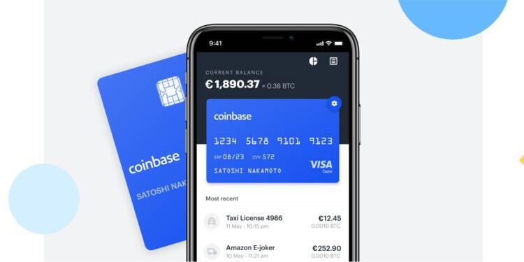 Coinbase lance une carte bancaire pour dépenser ses bitcoins en France