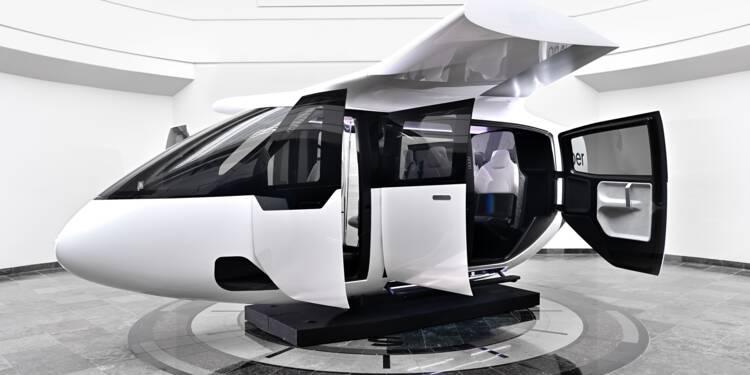 Voici la cabine universelle de Safran et Uber pour les taxis volants