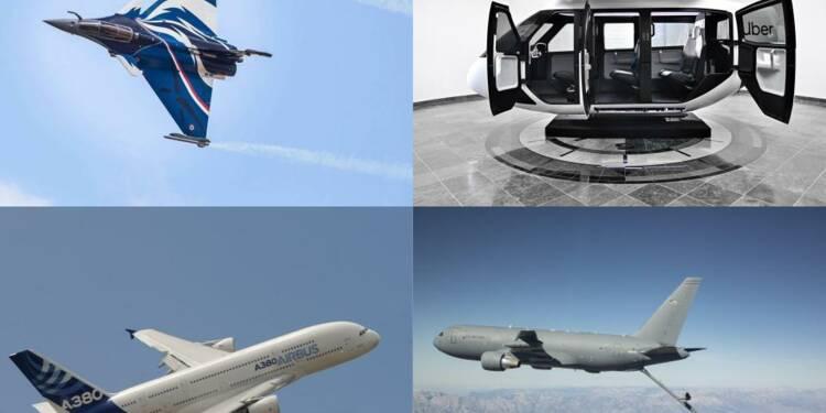 Rafale de Dassault, taxi-volants, jets privés… les vedettes du Salon du Bourget 2019